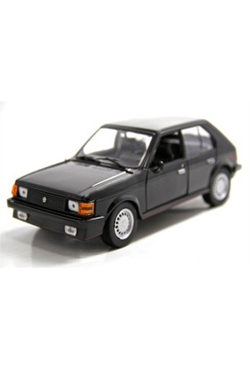 Motormax 1:24 1985 Dodge Omni Glh -Siyah Model Araba
