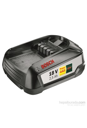 Bosch 18 V 2,5 Ah Akü