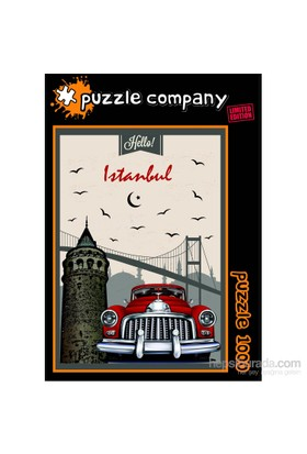 Puzzle Company Hello İstanbul - 1000 Parça Puzzle