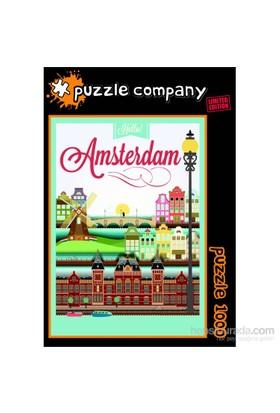 Puzzle Company Hello Amsterdam - 1000 Parça Puzzle