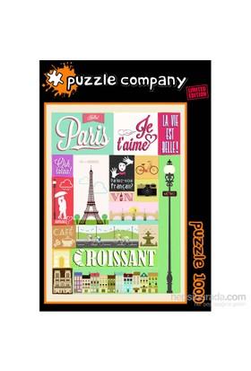 Puzzle Company Hello Paris - 1000 Parça Puzzle