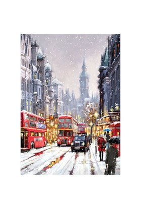 Art Puzzle Beyaz Londra 1500 Parça Puzzle
