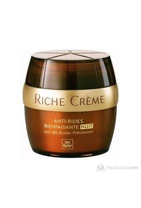 Yves Rocher Riche Creme - Hücre Yaşlanmasına Karşı Canlandırıcı Gece Kremi
