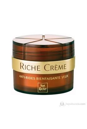 Yves Rocher Riche Creme - Hücre Yaşlanmasına Karşı Canlandırıcı Göz Kremi