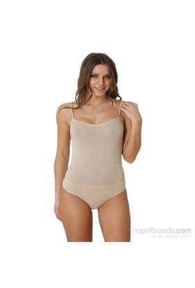 Focuswear Cıtcıtlı İp Askılı Kadın Body