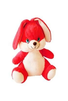 Selay Peluş Tavşan (Kırmızı) 45 cm