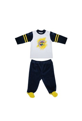 Fenerbahçe Lisanslı Unisex Bebek 2'li Takım Lacivert