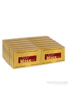 Silky Kiss Gold Kayganlaştırıcılı 12 Adet Prezervatif 12'Li Kutu 144 Adet