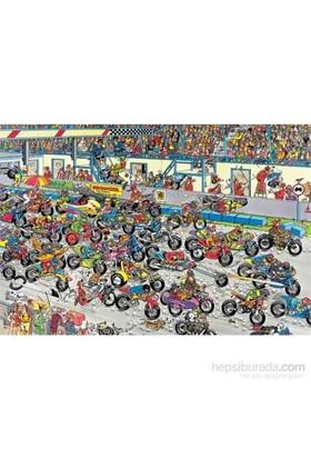 Motorbike Race, Jan Van Haasteren (1000 Parça)