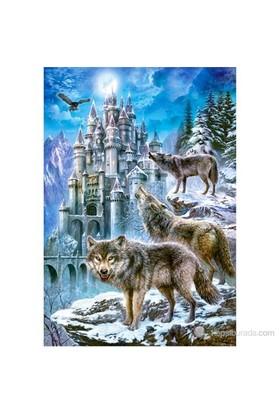 Castorland Puzzle 1500 Parça Wolves And Castle