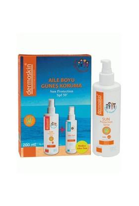 Dermoskin Sun Protection SPF 50+ Aile Boyu Güneş Koruyucu Krem