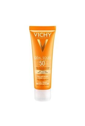Vıchy Ideal Soleıl Spf50 50Ml 3 Etkili Leke Karşıtı Renkli Güneş Koruyucu Bakım