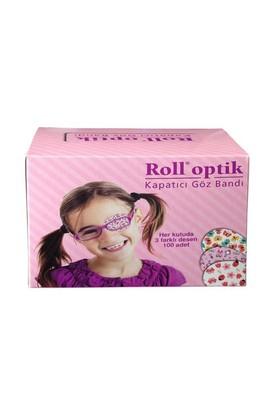 Roll Optik Kapatıcı Göz Bandı 100 Lü Kız