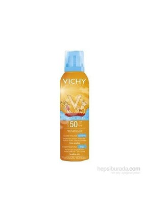 Vichy Capital Soleil Spf50+ Çocuklar İçin Yüksek Korumalı Güneş Köpüğü 150Ml