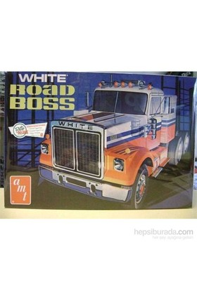 White Road Boss Truck (Ölçek 1:25)