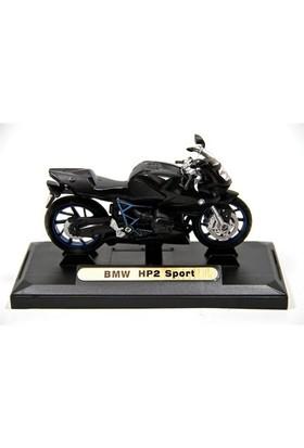 Bmw Hp2 Sport 1:18 Model Siyah Motorsiklet (Motormax)