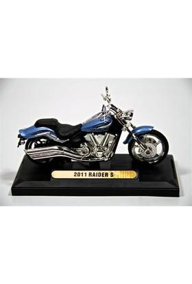 2011 Raider S 1:18 Model Motorsiklet Mavi (Motormax)