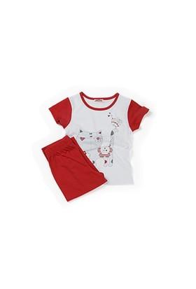 Zeyland Kız Çocuk Kırmızı Pijama Takım - K-61Z2PJM603