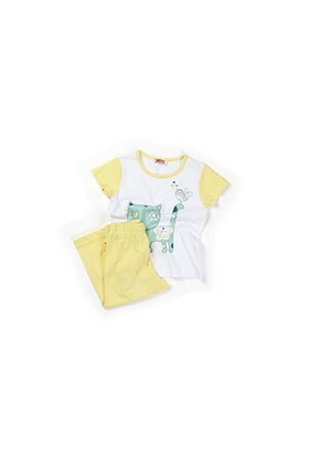 Zeyland Kız Çocuk Sarı Pijama Takım - K-61Z2PJM603