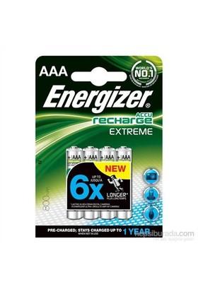 Energizer (E20-0012) Şarjlı 800 Mah AAA Kalem Pil 4Lü Blister (Şarj edilmiş)
