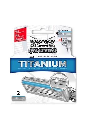 Wilkinson (J22-1409) Sword Quattro Titanium 2Li Bıçak