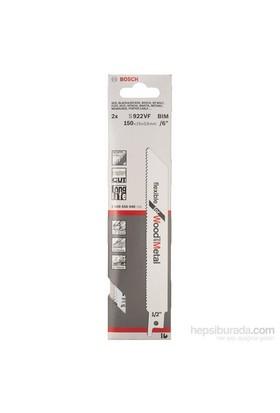 Bosch - Flexible Serisi Ahşap Ve Metal İçin Tilki Kuyruğu Bıçağı S 922 Vf - 2'Li Paket