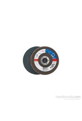 Bosch - Flap Zımpara Diski - 125 Mm, 22,23 Mm, 80 Kum