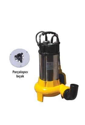 Attlas V1100d-F Döküm Gövdeli1,5 Hp Atık Su Pompası