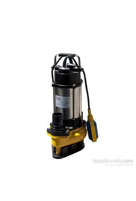 Attlas V750A-F Döküm Gövdeli 1 Hp Atık Su Pompası