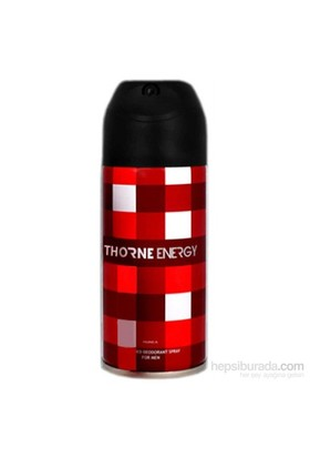 Thorne Energy Deo Spray 150 Ml Erkek Deodorant