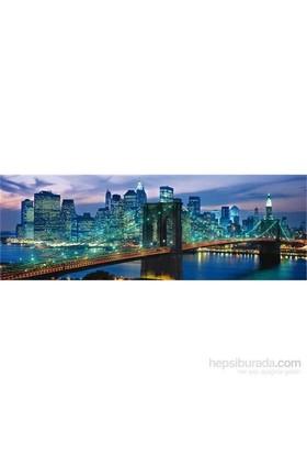 Clementoni 1000 Parça Puzzle Panorama - New York Brooklyn Bridge