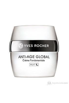Yves Rocher Anti-Age Globale - Gençleştirici Ve Hücre Yenileyici Gece Kremi