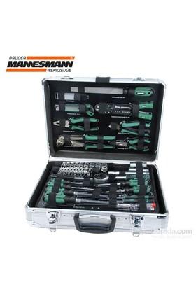 Mannesmann 29075 Alüminyum Takım Çantalı Alet Seti, 108 Parça