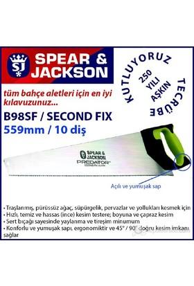 Spear And Jackson B98sf El Testeresi İşlenmiş Malzeme İçin