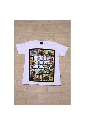 Köstebek Gta V Allover Çocuk T-Shirt
