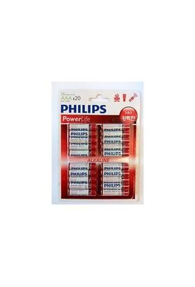 Philips Lr03p20b/97 Aaa 20Li İnce Alkaline Pil