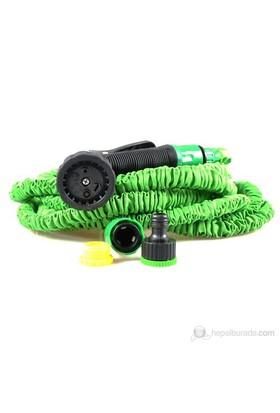 Magic Hose Uzayan Sihirli Hortum (Yeşil) 15 Metre (Sulama Tabancası Dahil)