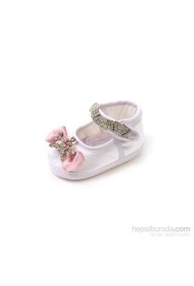 Vitrin Bebe Yummy Pembe Kurdeleli Ayakkabı