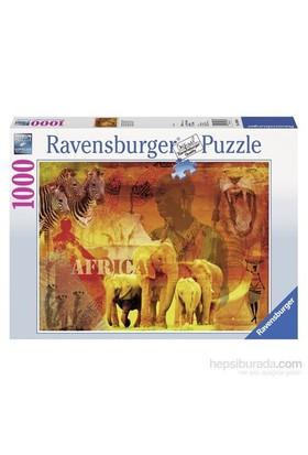 Ravensburger 1000 Parça Puzzle Afrika İzlenimleri