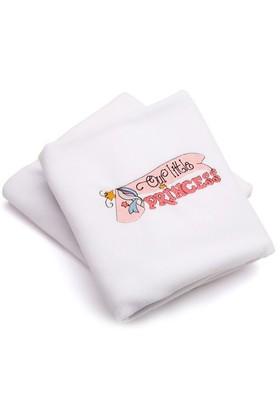 Pompon İsme Özel Prenses Polar Battaniye