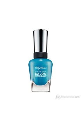 Sally Hansen Csm – Calypso Blue - 5'Li Etkili Oje - Işıltılı Mavi - 440