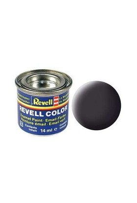 Revell Tar Black Mat 14 Ml Maket Boyası