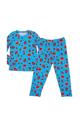 Zeyland Erkek Çocuk Mavi Desenli Pijama Takim K-42Z2pjm45