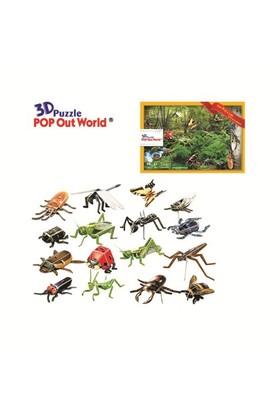 Scholas The Bug's Life From Schoolbook 3 Boyutlu Puzzle