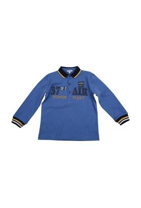 Zeyland Erkek Çocuk Mavi T.Shirt Polo Yaka K-42M523kng64