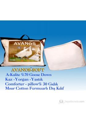 Avanos Soft Kaz Tüyü Çocuk Yastık (%70 Gıdık Tüyü)