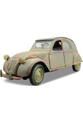 Maisto Citroen 2cv 1952 Model Araba 1:18 Old Friends Yeşil