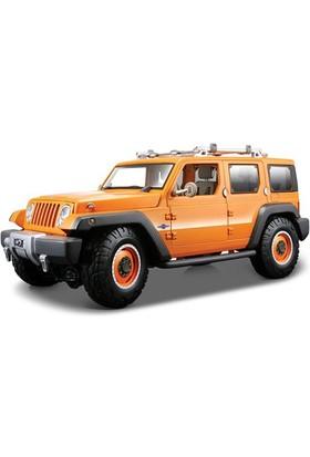 Maisto Jeep Rescue Concept Model Araba 1:18 Premiere Edition Turuncu