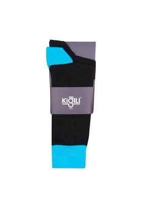Kiğılı 2'Li Desenli Çorap 4Kncdrnk411