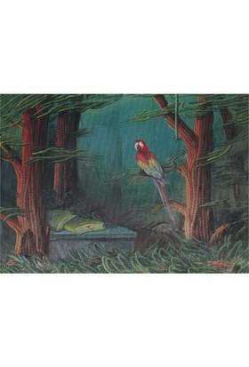 Art Puzzle Ormanın Misafiri (1000 Parça)